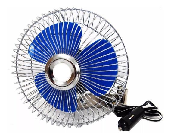 Mini Ventilador Articulado Automotivo 12v Cinoy