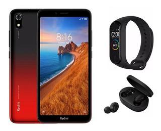 Smartphone Xiaomi Redmi 7a 2gb/32gb E Airdots E Mi Band 4