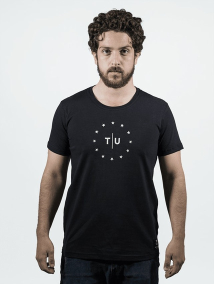 Camiseta T|u Stars Preta