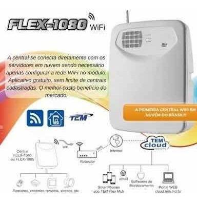 Central De Alarme Auto Monitorada Wifi