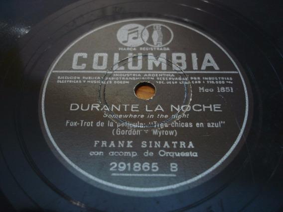 Disco Pasta 78 Rpm Frank Sinatra Columbia C84