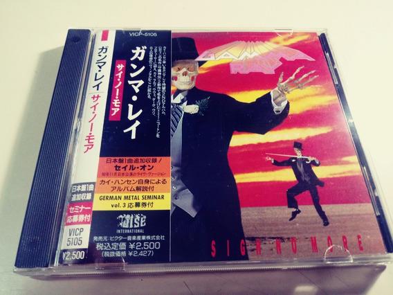 Gamma Ray - Sigh No More - Made In Japan , Con Obi