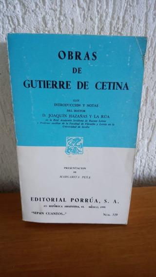 Livro - Obras - Gutierre De Cetina