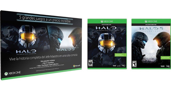 Xbox One Pack: Halo 5 + Halo Master Chief Collection Español
