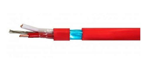Imagem 1 de 2 de Cabo Pp Alarme Vermelho 2x0,75 Mm (30 Metros)