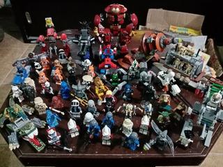 Super Lote De Figuras Lego $6000.00