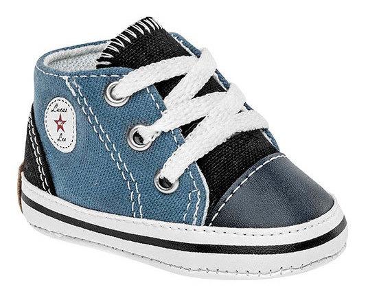 Sofi Sneaker Casual Textil Niño Azul Bto02227