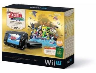 Consola Wii U Versión Legend Of Zelda The Wind Waker Hd