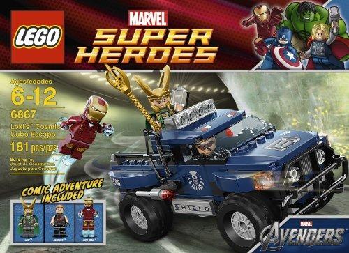 Escape Del Cubo Cósmico De Lego Loki 6867