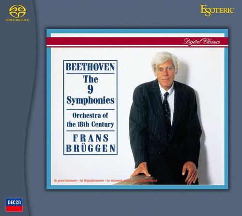 Disco Sacd + Cd  Frans Bruggen  Beethoven Las 9 Sinfonías