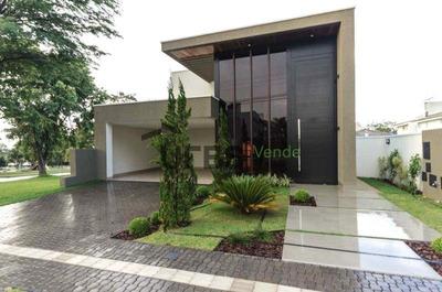 Casa Com 3 Dormitórios À Venda, 206 M² Por R$ 1.250.000 - Jardins Madri - Goiânia/go - Ca0577
