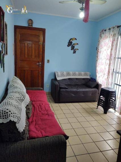 Apartamento De 1 Dormitório Mobiliado Com Sacada A 1 Quadra Da Praia - Ap2641