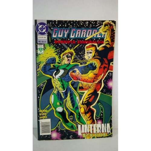 Guy Gardner Derrota Esmeralda Linterna Verde Editorial Vid
