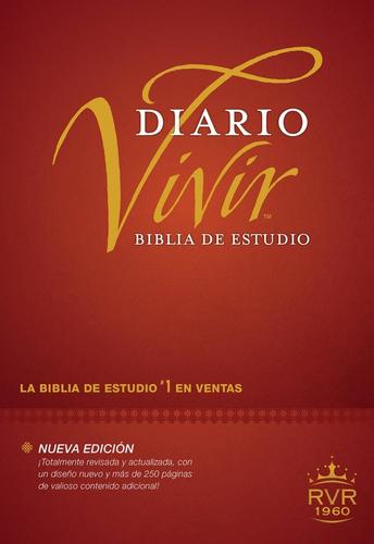 Biblia De Estudio Diario Vivir Reina Valera 1960 Tapa Dura