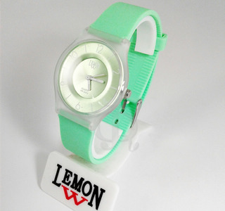 Reloj Lemon L1423 Caucho Colores Elegi Color Sumergibles
