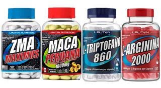 Kit Maca Peruana + Zma + L-arginina + Triptofano
