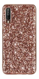 Funda Brillo Glitter Bling Samsung M10 20 A30 A50 A7 A9 2018