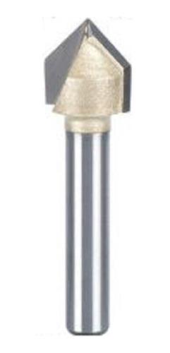 Fresa Gravadora 90 Graus Haste 6mm Corte 1/2
