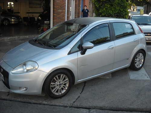 Fiat Punto  Elx  1.4 Nafta  2007  5 Ptas Gris Plata