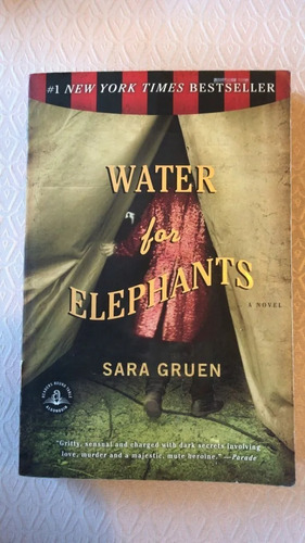 Livro - Water For Elephants (inglês) Sara Gruen