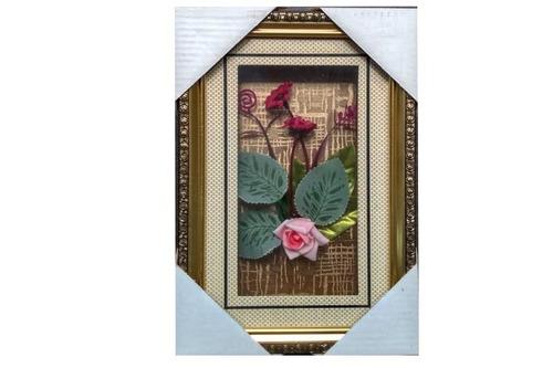 Cuadros Cuadro En Vidrio Decoración Rosas Flores 1523-1702