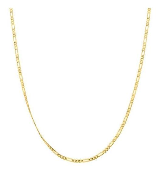 Cadena Bizzarro De Oro Amarillo 35 Cm Cal 40-040gaxpde1335a