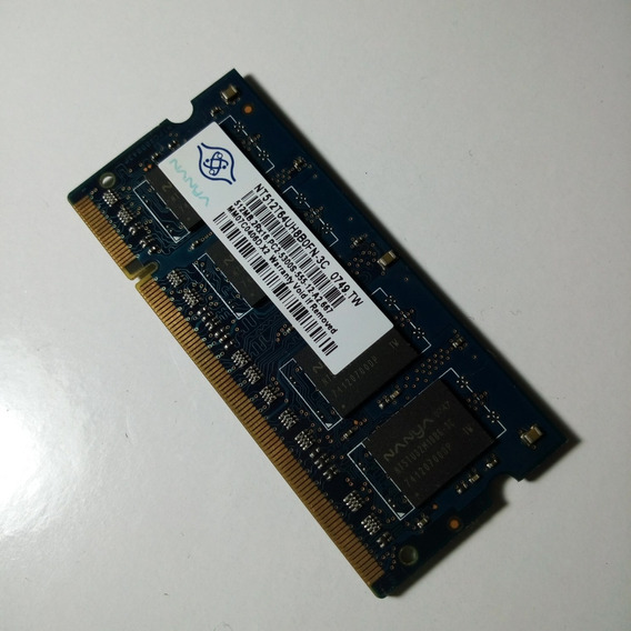 Memoria Ram 512 Ddr2 667 Mhz Notebook Nanya
