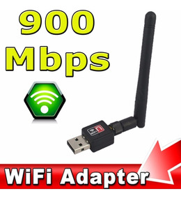 Adaptador Receptor Wireless Usb Wifi 900mbps Pc Notebook