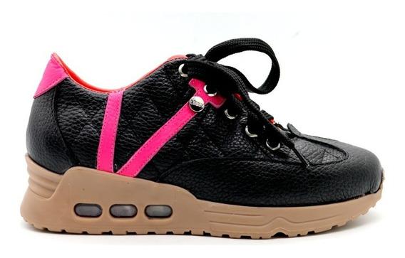 Zapatillas Urbanazapatillas Mujer Zapatos Cuero Negro Urbana
