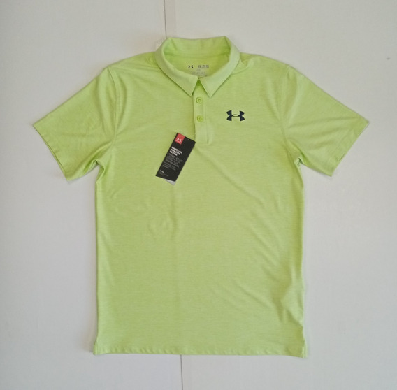 Playera Tipo Polo Under Armour, Manga Corta, Talla S
