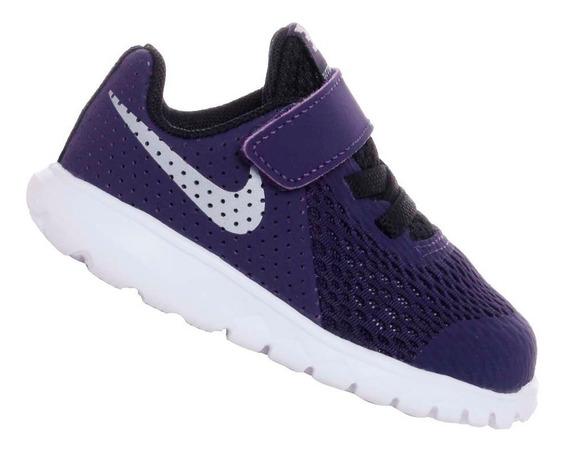 Tênis Nike Infantil Flex Experience 5 Roxo Menina 844993503