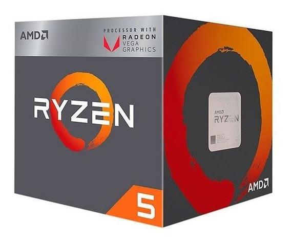 Processador Amd Ryzen 5 2400g Quad-core 3.6ghz 6mb Cache Am4