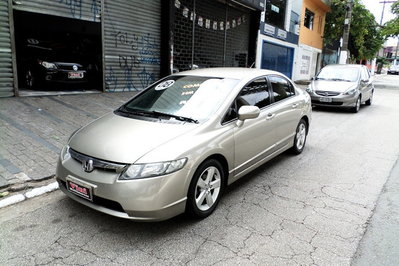 Honda Civic 1.8 Lxs Aut. 2008/2008