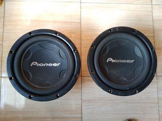 Bajos Pioneer 12 Originales