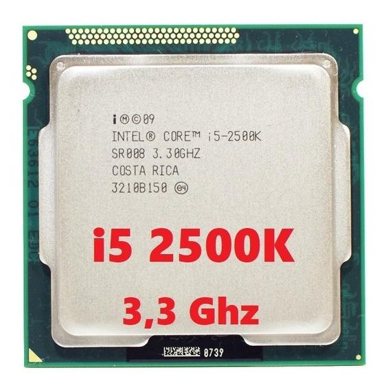 Processador Cpu Intel I5 2500k 3.3ghz Lga1155 + Pasta Termic