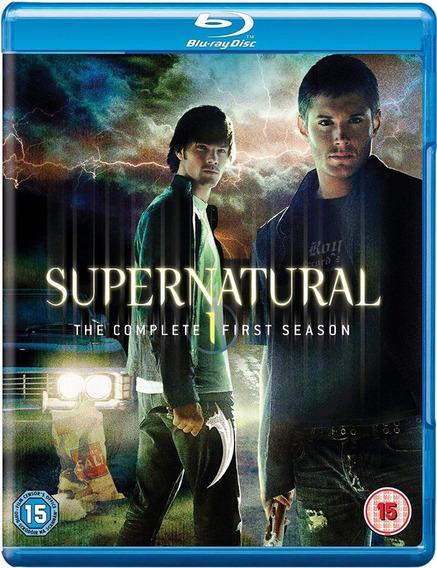 Blu-ray Supernatural - 1ª Primeira Temporada Dublado