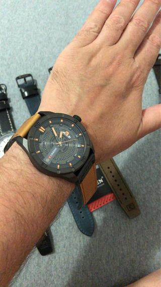 Qualquer Relógio Curren 130