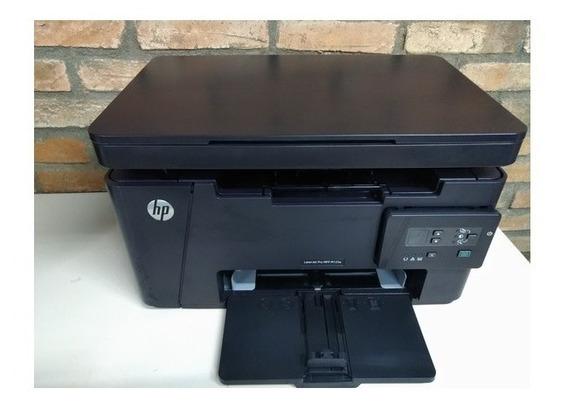 Impressora Laserjet Hp M125 Revisada E Com Garantia 110v