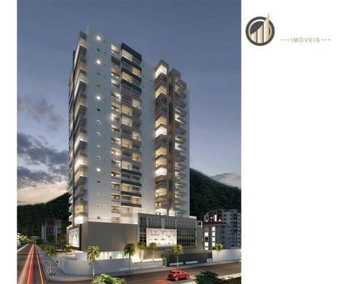 Imagem 1 de 30 de Apartamento Com 3 Dormitórios À Venda, 95 M² Por R$ 519.900,00 - Canto Do Forte - Praia Grande/sp - Ap1204