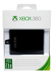 Hd 500gb Xbox 360 Slim Super Slim Microsoft Lacrado Original