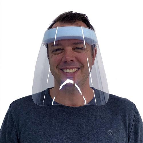 Imagem 1 de 4 de Mascara De Proteçao Face Shield
