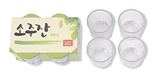 Set De Copas Soju Coreanas 8pcs También Para Whiskeytequilaa