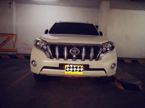 Toyota Prado Europea Blindado Familiar Land Cruiser 210hp