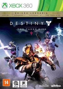 Destiny The Taken King Edição Lendária Xbox 360 Lacrado