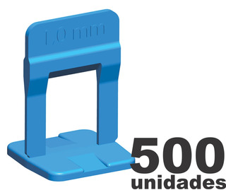500 Espaçador Nivelador Porcelanato Slim 1.0mm Cortag