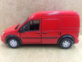 Miniatura Ford Trânsito Connect Vermelha