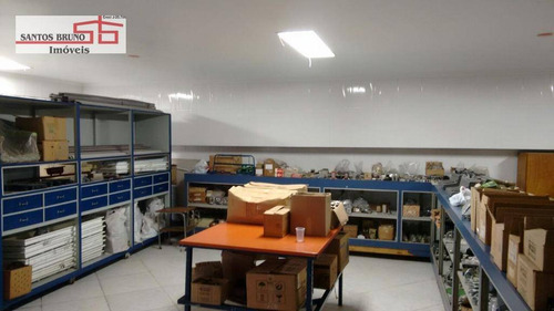 Salão Para Alugar, 270 M² Por R$ 6.980,00/mês - Limão (zona Norte) - São Paulo/sp - Sl0063