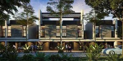 Pre-venta De Townhouse Con Rooftop En Luana, Mérida