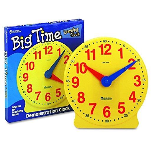 Recursos Para El Aprendizaje Gran Reloj De Tiempo De Aprendi