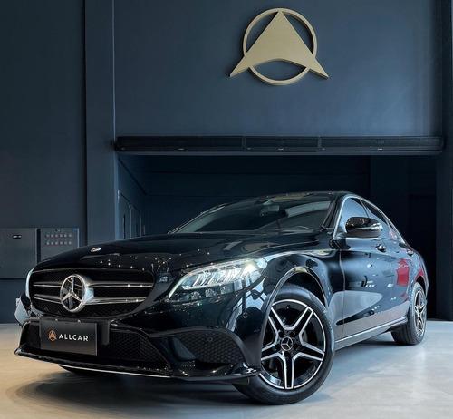 Mercedes Benz C180 Avantgarde Tb Cgi 1.6 Preto 2019/19